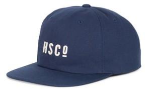 Herschel Men's 'Mosby' Snapback Baseball Cap - Blue