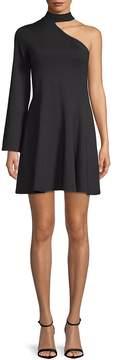 Susana Monaco Women's One-Shoulder A-Line Dress