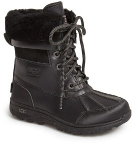 UGG Toddler 'Butte Ii' Waterproof Leather Boot