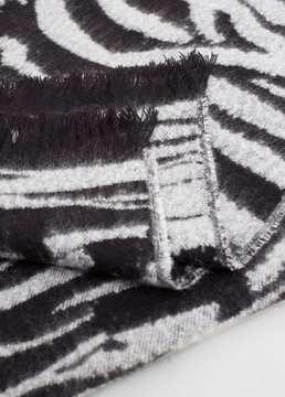 Mango Outlet Animal print scarf