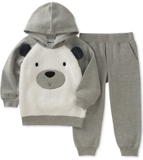 Kids Headquarters 2-Pc. Bear-Face Hoodie & Joggers Set, Toddler Boys (2T-5T)