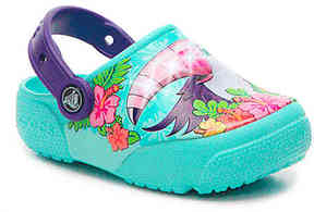 Crocs Girls FunLab Tucan Toddler & Youth Light-Up Clog