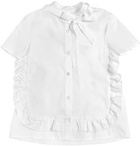 N°21 Stretch Cotton Poplin Shirt
