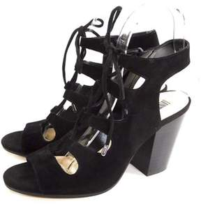 INC International Concepts Womens Radka Fabric Open Toe Casual Strappy Sandals.
