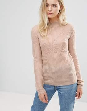 Brave Soul Turtleneck Rib Sweater