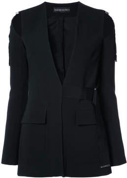 David Koma deconstructed jacket