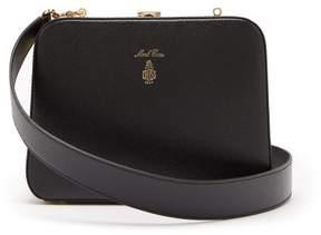 Mark Cross Juliana Grained Leather Cross Body Bag - Womens - Black