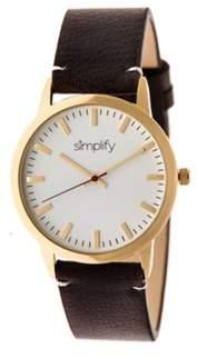 Simplify Men's The 2800 Quartz Watch.