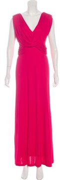 David Meister Sleeveless Evening Dress
