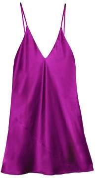 Fleur Du Mal Mini Slip Dress