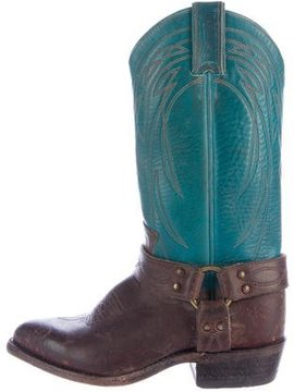 Frye Leather Cowboy Boots