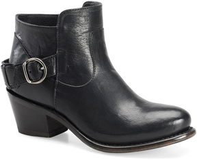 Sonora Black Ella Leather Ankle Boot
