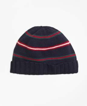 Brooks Brothers Merino Wool Stripe Hat