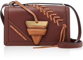 Loewe Barcelona Large Laced Leather Bag