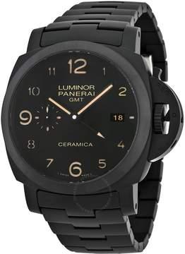 Panerai Luminor 1950 Tuttonero GMT Black Dial Men's Watch
