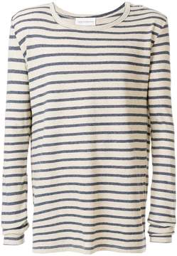 Faith Connexion striped long-sleeved top