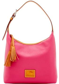 Dooney & Bourke Patterson Leather Paige Sac Shoulder Bag - HOT PINK - STYLE