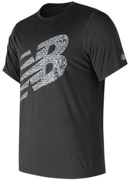 New Balance Men's MT73060 Accelerate Short Sleeve Graphic Tee
