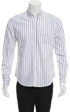 Band Of Outsiders Striped Button-Up Shirt