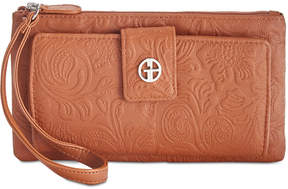 Giani Bernini Tooled Grab & Go Wallet Wristlet, Created for Macy's