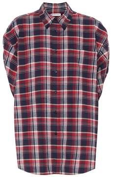 Balenciaga Plaid cotton shirt