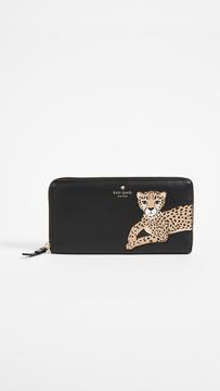Kate Spade Leopard Lacey Wallet