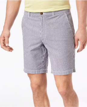 Club Room Men's 9 Seersucker Stretch Shorts, Created for Macy's