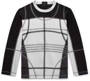 Craig Green Contrast-Stitched Loopback Cotton-Blend Jersey Sweatshirt