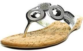 Thalia Sodi Mora Open Toe Synthetic Thong Sandal.