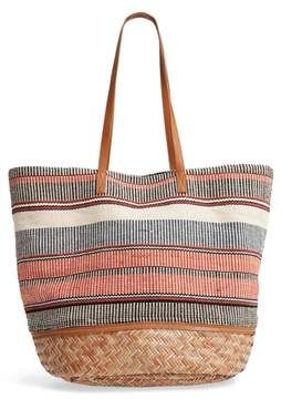 Sole Society Oversized Fabric Tote