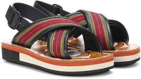 Marni Striped sandals
