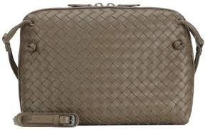 Bottega Veneta Nodini intrecciato leather crossbody bag