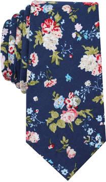 Bar III Men's Island Floral Skinny Tie, Created for Macy's