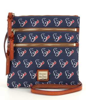 Dooney & Bourke NFL Collection Houston Texans Triple-Zip Cross-Body Bag - NAVY - STYLE