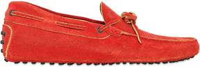 Tod's Gommino Washed Suede Driving Shoes