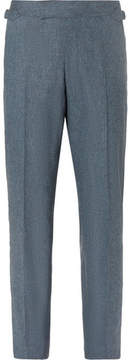 Richard James Seishin Slim-Fit Mélange Stretch-Wool Suit Trousers