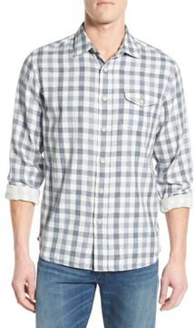 Grayers Men's 'Denby' Trim Fit Double Woven Sport Shirt