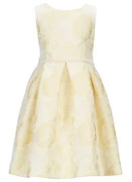 Bonnie Jean Little Girls 4-6X Floral Jacquard Dress