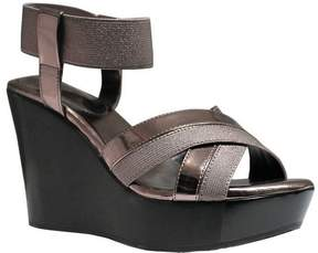 Charles David Charles by Women's Fort Ankle Strap Wedge Sandal