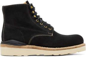Visvim Black Suede Virgil Boots