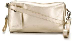 Marsèll metallic leather clutch