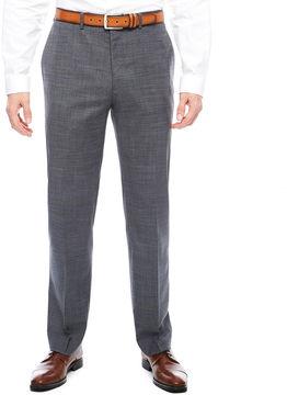 Claiborne Squares Stretch Slim Fit Suit Pants