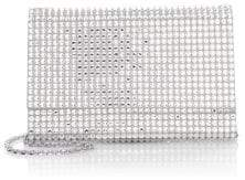 Judith Leiber Couture Fizzoni Bling Crystal Clutch