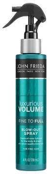 John Frieda Luxurious Volume Fine to Full Blow Out Spray - 4oz