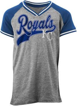 5th & Ocean Kansas City Royals Rhinestone Script T-Shirt, Girls (4-16)