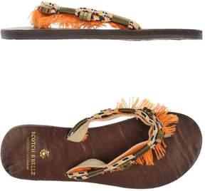 Scotch R'Belle Toe strap sandals