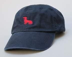 Blade + Blue Navy Dachshund Logo Baseball Cap - Mookie