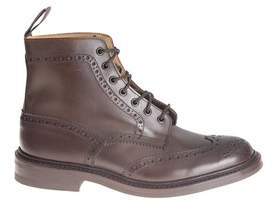 Tricker's Men's Brown Leather Ankle Boots.