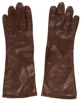 Hermes Mid- Length Lambskin Gloves