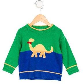 Florence Eiseman Boys' Crew Neck Intarsia Sweater